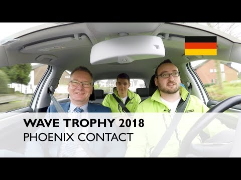 WAVE TROPHY 2018: Experience e-mobility with the main sponsor PHOENIX CONTACT