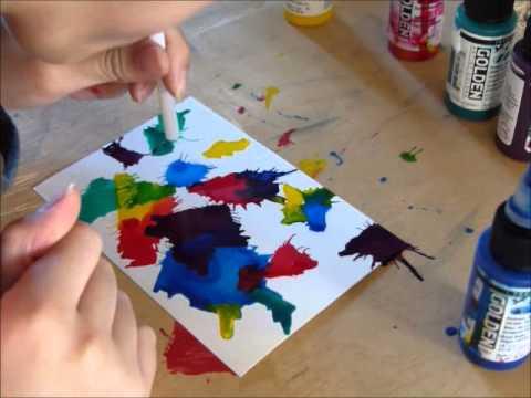 Tache De Peinture Colore