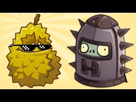 Plants vs. Zombies 2 - Endurian is the BOSS! - YouTube