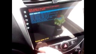 вход в рекавери на ГУ с сенсорным управлением (RK3188, HA2104, MCU 2.85, 9