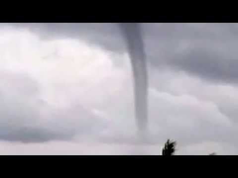 Tornado seen Manu'a Islands American Samoa