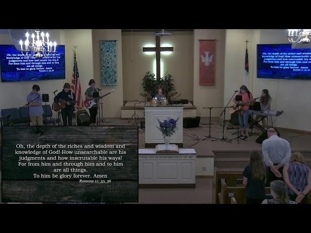 Calvary Baptist Church Sunday, 11 July, 2021