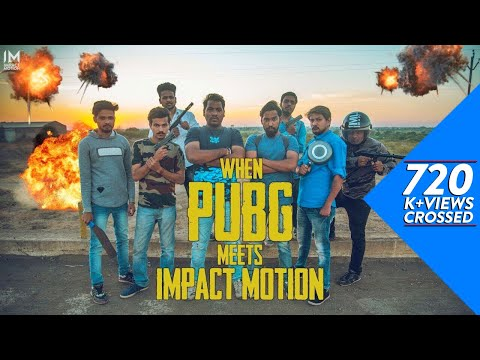When PUBG meets Impact Motion | Lens On Wheels