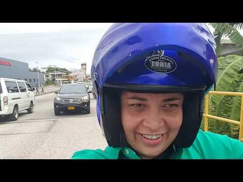 Moto Taxi no Paramaribo Suriname.