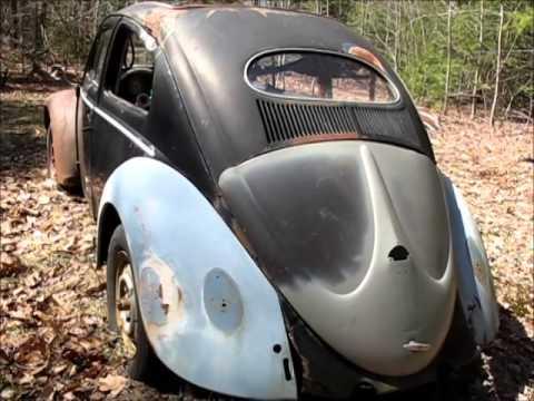 Oval Window Rag Top 57 VW Bug - YouTube