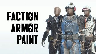 Creation Club Update: Faction Armor Paint for Fallout 4