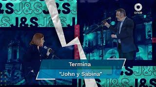 """En un comunicado, el canal informó que """"de común acuerdo termina la tercera temporada de """"John y Sabina"""""""