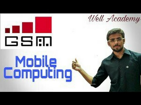 Mobile Computing Lecture -- GSM Architecture & Call Routing Easy Explanation (Eng-Hindi)