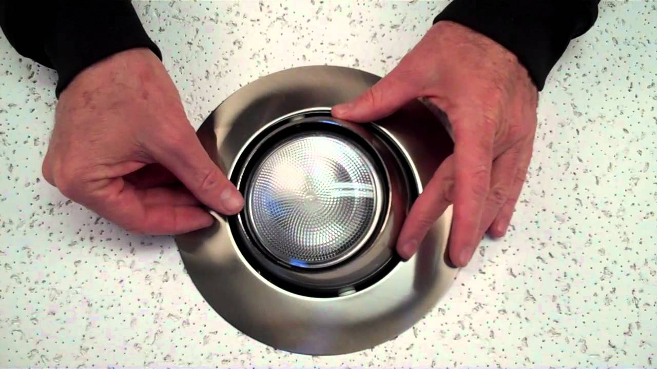 How to install a recessed eyeball trim by Total Recessed Lighting ...