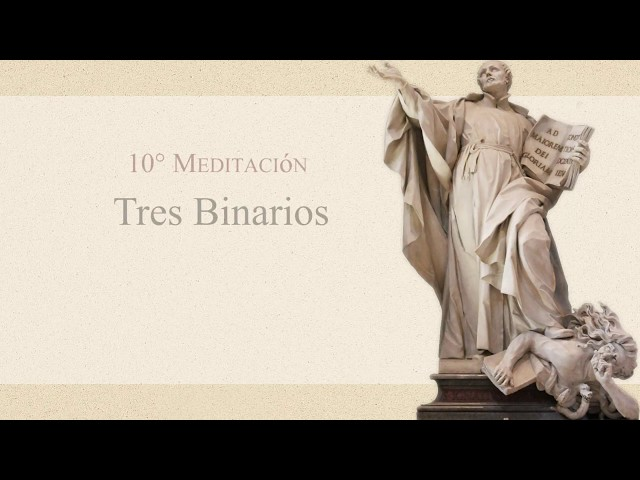 14 Tres Binarios - P. Gustavo Lombardo