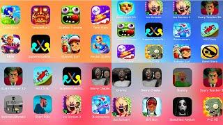 Sonic Dash,Temple Run 2,Zombie Tsunami,TankStars,BlockCraft 3D,Ice Scream,Ice Scream 2,Scary Teacher