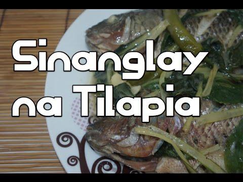 Paano magluto Sinanglay na Tilapia Recipe Filipino Tagalog Fish