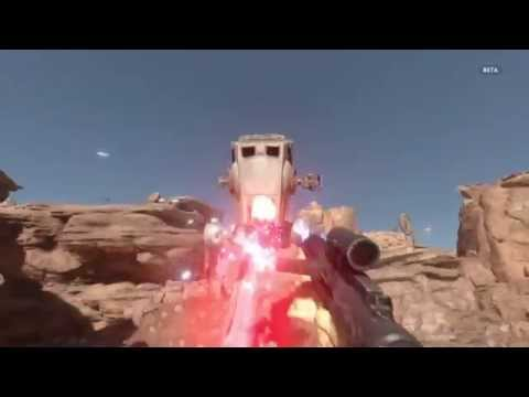 StarWars Battlefront Beta First Person Survival, No Hud