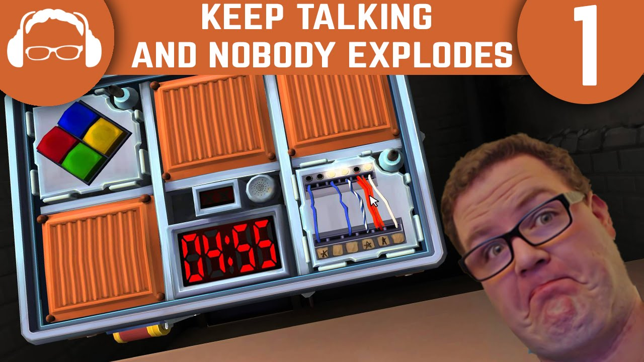 my life in your brain keep talking and nobody explodes ep 1 youtube