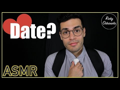 ASMR - Shy Nerd Role Play   Cute Date ❤️ (Male Whisper, Romantic, Personal Attention for Relaxation)