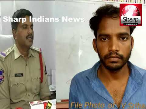 Man who killed his own mother    Arrested by Chaderghat police    Hyderabad 2018