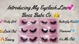 Introducing My Eyelash Line🥰