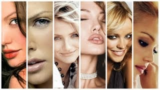Top 10 Most Beautiful Hollywood Faces