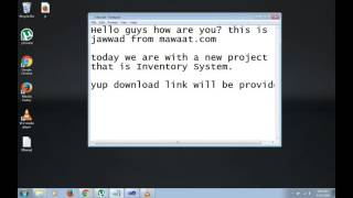 Download Source Code: How to make Inventory Management System in c# Visual  Studio 2010 by Mawaat