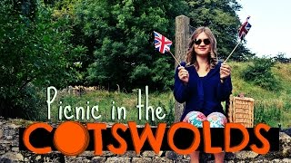 Picnic in the BEAUTIFUL Cotswolds! | Daily Travel Vlog 171, Gloucestershire, England