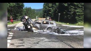Schock-Video: Tödlicher Motorrad-Crash