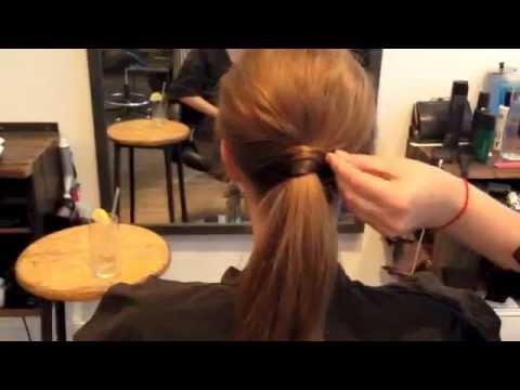 How To Serena Van Der Woodsen Ponytail Tutorial Youtube