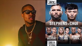 Stephens vs. Choi Predictions UFC Fight Night 124