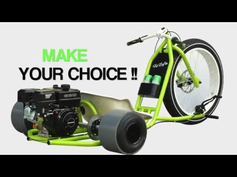 MOTORIZED BIG WHEEL DRIFT TRIKE GANG (COLOR COMBOS)