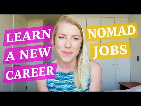 Digital Nomad Jobs - LEARN A NEW CAREER ♡ 50 Job Ideas Part 3
