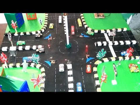 Civil engineering project auto road signal easy and low cost projects
