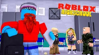 I LOVE LITTLE KELLY - ROBLOX HIGHSCHOOL (Roleplay) - Sharky Roblox