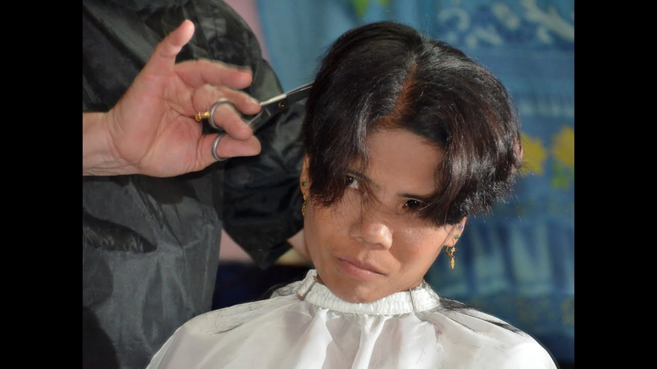 Boyish Hair Cut Youtube