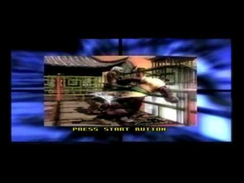 Virtua Fighter 4 intro Playstation 2