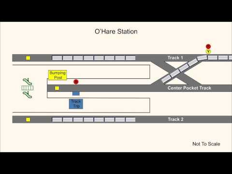 Chicago Transit Authority Train Collides With Bumping Post And Escalator At O'Hare Station