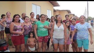 Moradores do Residencial Nossa Senhora do Rosário, relatam sofrimento após a primeira chuva