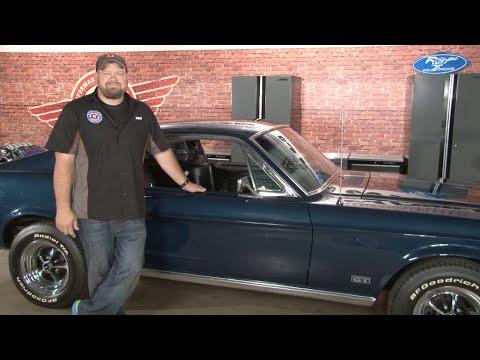 1966 Mustang Parts >> Mustang TMI Headliner Fastback 1965-1968 Installation - YouTube