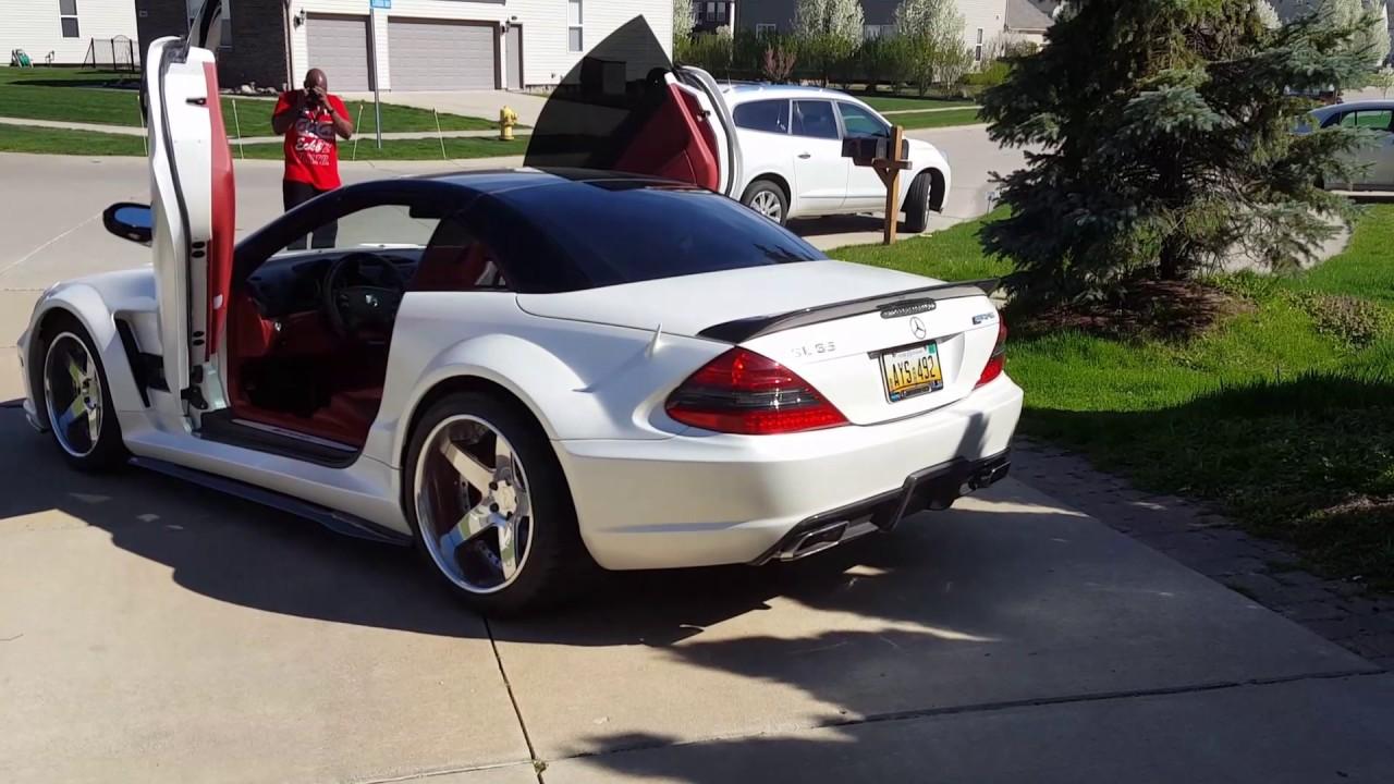 All Types amg black series wheels : Mercedes amg Sl65 black series vad wheels - YouTube