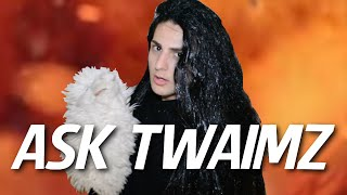 I'M STILL BEING HAUNTED AND I AM TAYLOR SWIFT?! - ASK TWAIMZ