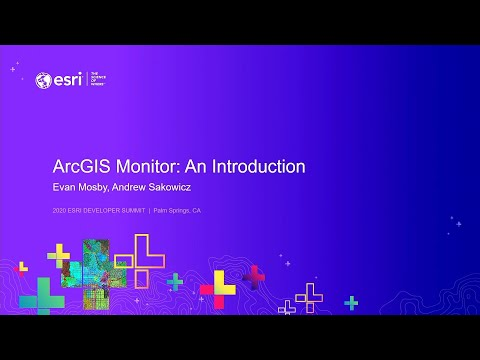 ArcGIS Monitor: An Introduction