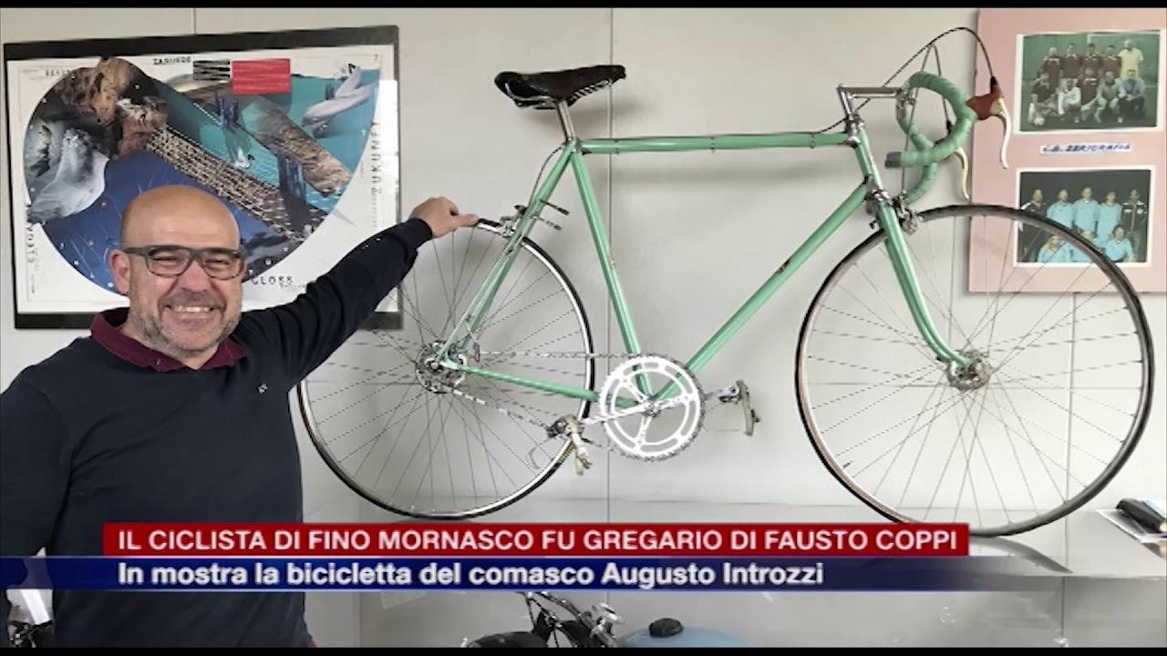 Etg In Mostra La Bicicletta Del Comasco Augusto Introzzi Gregario Di Fausto Coppi