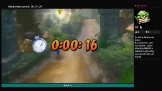 DIRECTO DE CRASH BANDICOOT SUPERANDO RECORDS PERSONALES!!!!