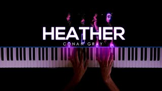 Heather - Conan Gray | Piano Cover by Gerard Chua видео