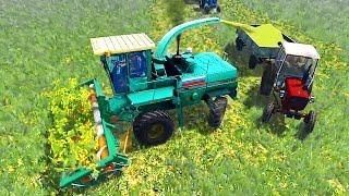 Длинный мультик для детей про трактор и комбайн работающие в поле. #Автошка №10(В мультфильме увидим как трактор эксплуатируется с сельхоз инвентарём. А именно: культивация поля: езда..., 2016-05-28T06:00:01.000Z)