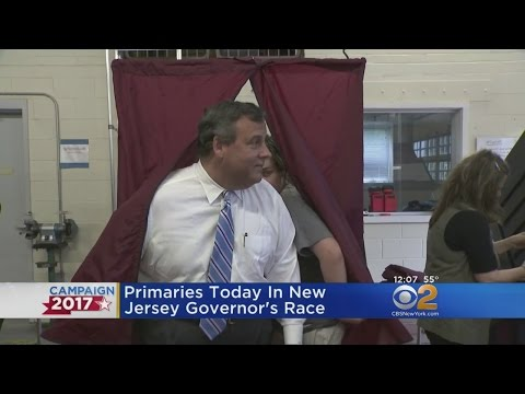 Primary Election Underway In New Jersey