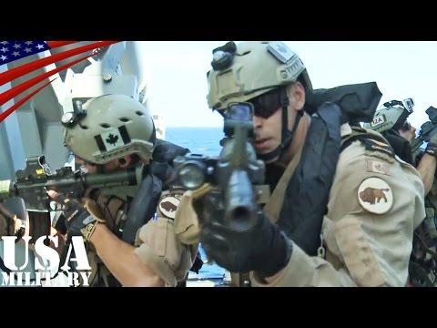 """カナダ海軍・海上船舶臨検(VBSS)チーム - Canadian Navy VBSS """"Naval Boarding Party"""""""