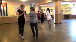 Уроки женской техники аргентинского танго