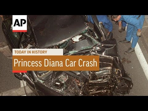Princess Diana Deadly Car Crash - 1997 | Today In History | 31 Aug 17