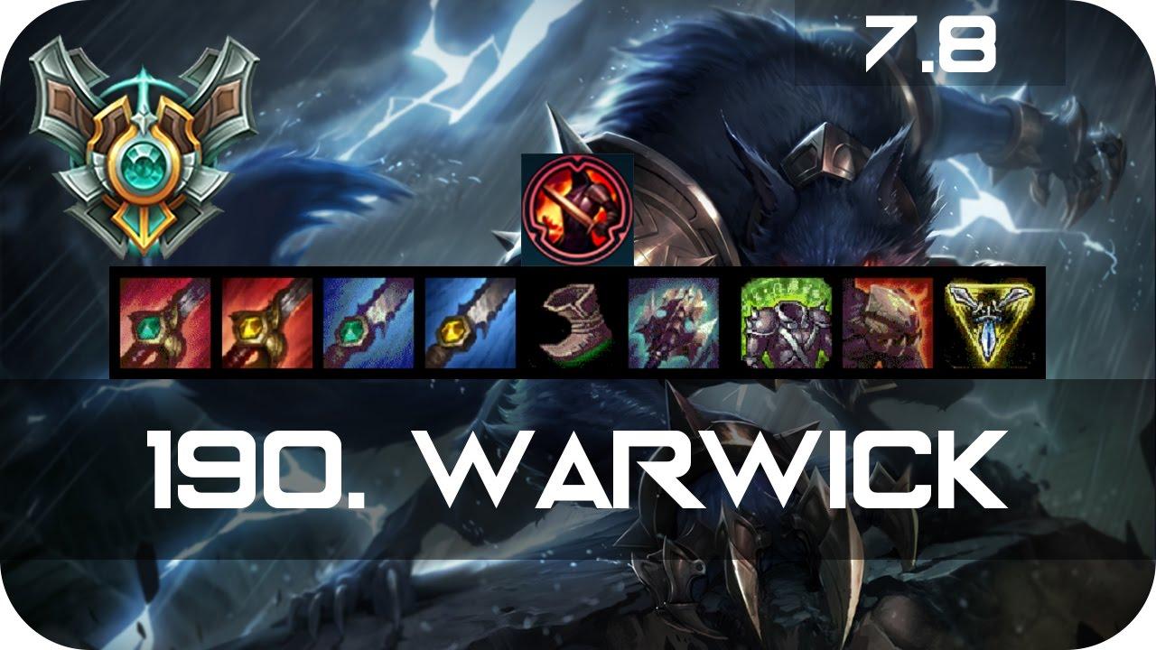 Warwick Season  Build