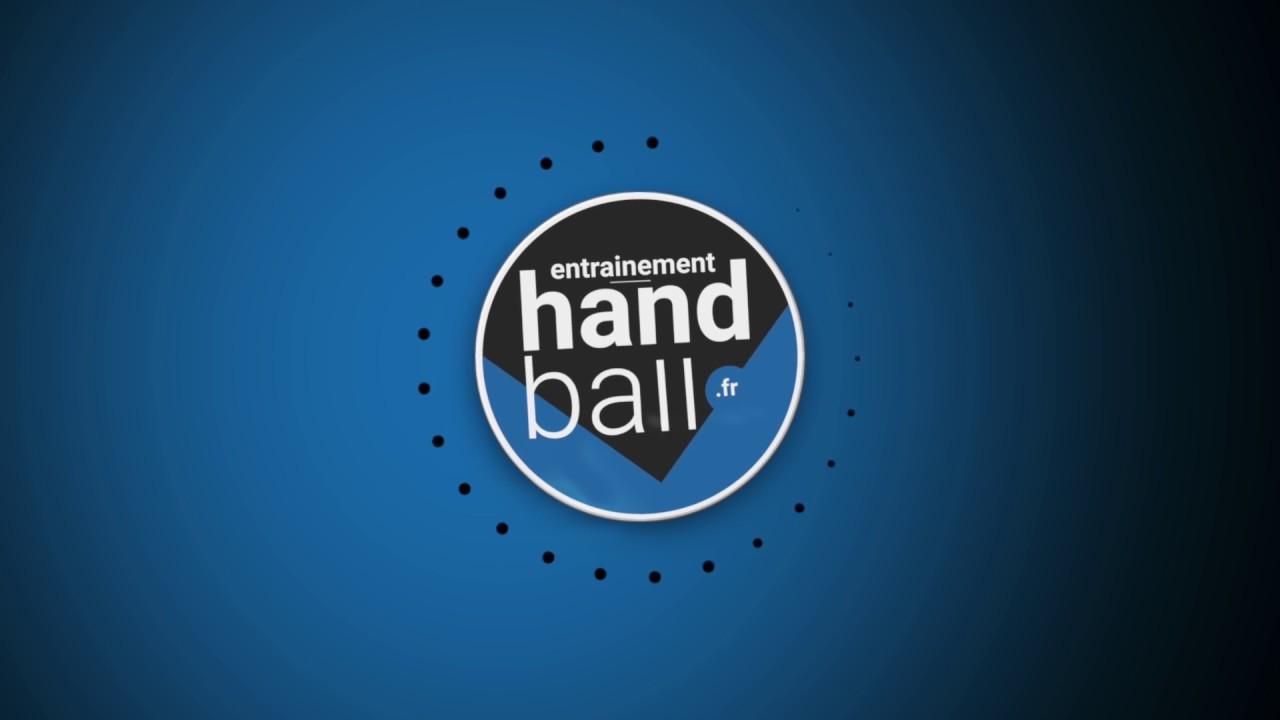 Exercice de Handball : Jeu avec le pivot - YouTube