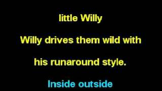 Little Willy in the Style of: The Sweet (Karaoke)